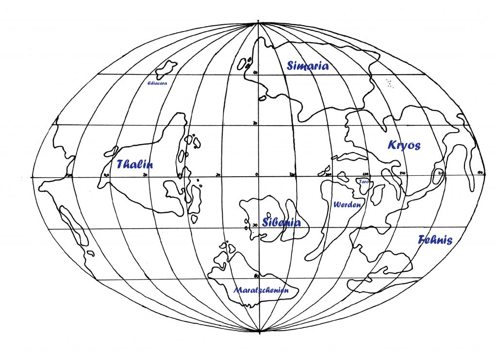 Weltenbau: Die Kontinente